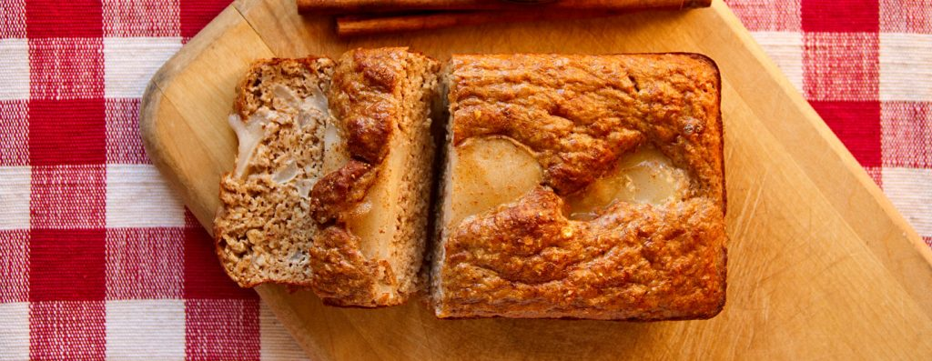 Apple Pie Protein Bread