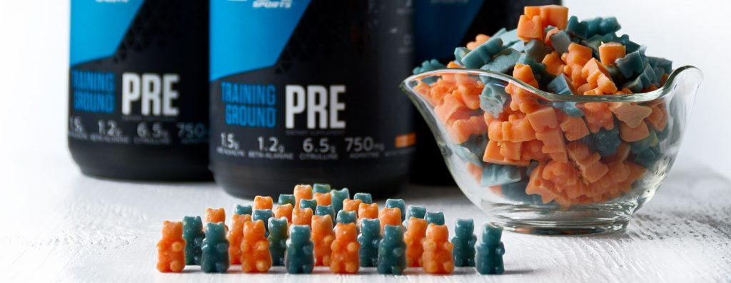 Pre-Workout Gummy Bears