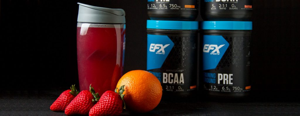 Strawberry Orange Pre-Workout Fuel