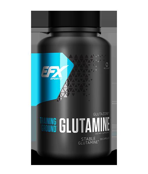 training ground glutamine capsules