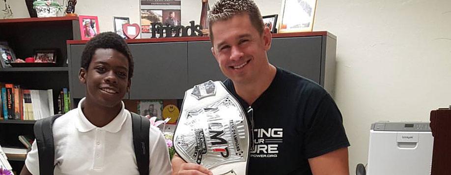 EFX Sports Show 96: Daniel Puder WWE, MMA Star & My Life My Power Founder