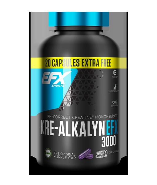 Kre-Alkalyn EFX 3000 260 Capsules Image