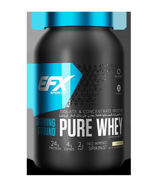Pure Whey Protein 2.4lb - Vanilla Image